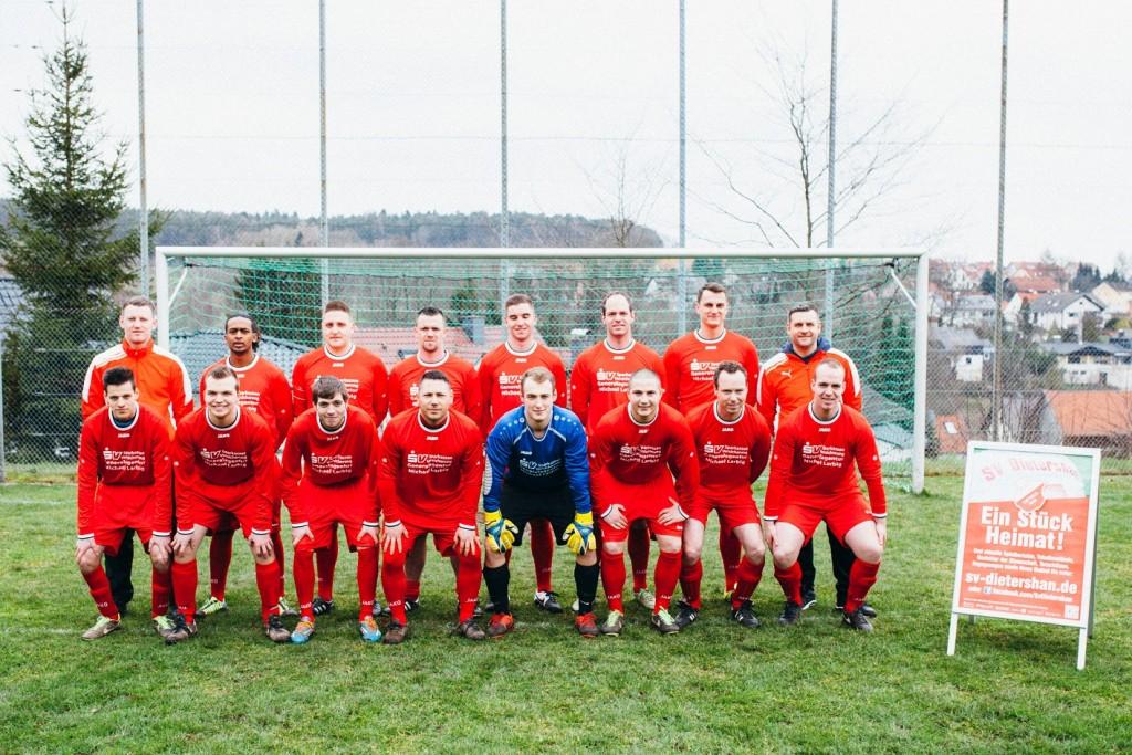 Mannschaftsbild SV Dietershan 2015-2016