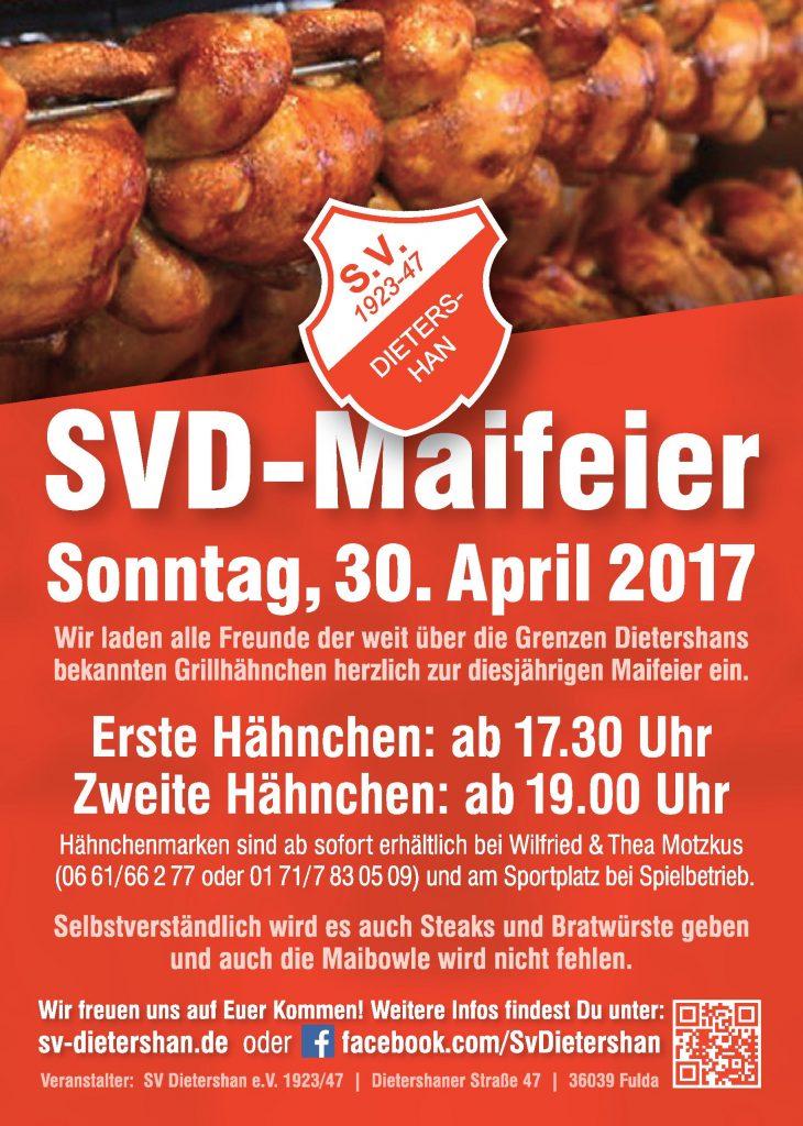 Maifeier des SV Dietershan am 30. April